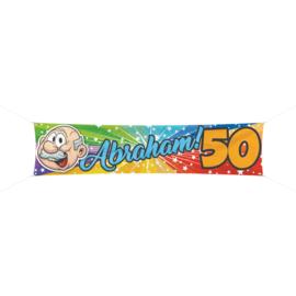 Abraham 50- Banner