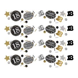 Gold 18 confetti