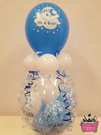 Geboorte- Stuffer blauw