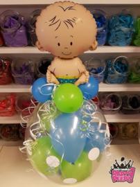 Geboorte- Stuffer folie baby