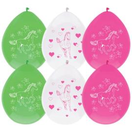 Paarden- Ballonnen
