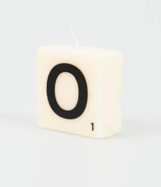 Letterkaars- O