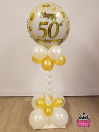 Mini Pilaar- 50 jaar getrouwd