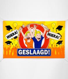 Vlag- Geslaagd