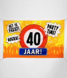 Vlag- 40 jaar