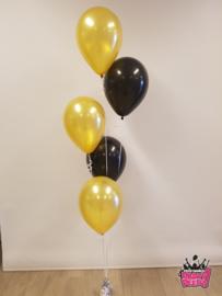 Helium- Gronddeco 5 goud en zwart