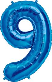 Folie blauw 9