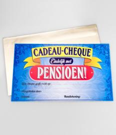 Cheque- Pensioen