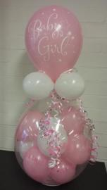 Geboorte- Stuffer roze