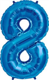 Folie blauw 8