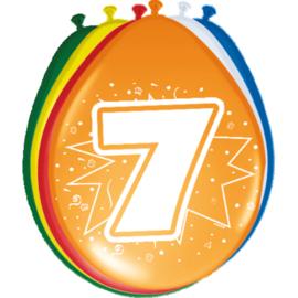 Ballonnen- 7 jaar