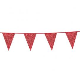 Rood- Glitterlijn