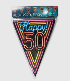 Neon vlaglijn- 50 jaar