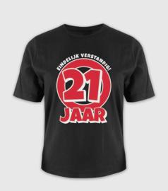 T-shirt- 21 jaar