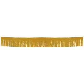 Goud- Fringe Banner