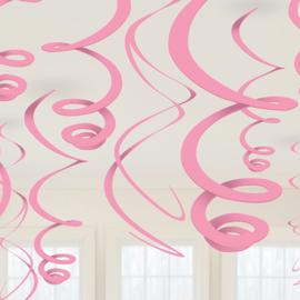 Lichtroze- Swirl