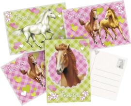 Paarden- Uitnodigingen