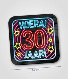 Neon- Schild 30 jaar