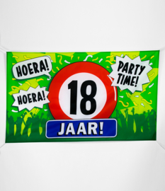 Vlag- 18 jaar