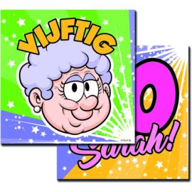 Sarah 50- Servetten