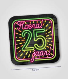 Neon- Schild 25 jaar