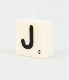 Letterkaars- J