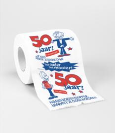 Toilet- 50 jaar man