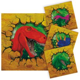 Dino- Servetten
