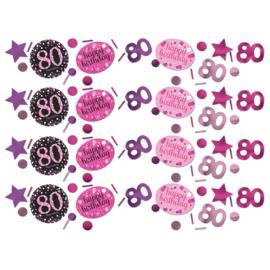 Pink 80 confetti