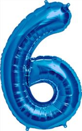 Folie blauw 6