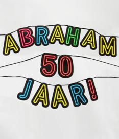 Neon- Letterslinger Abraham