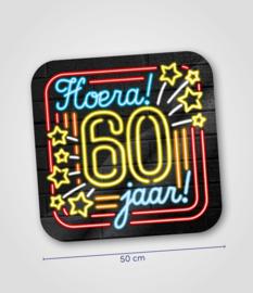Neon- Schild 60 jaar