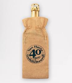 Wijnzak- 40 jaar