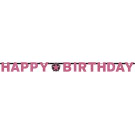 HB pink letterslinger