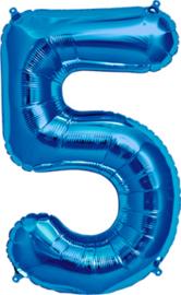 Folie blauw 5