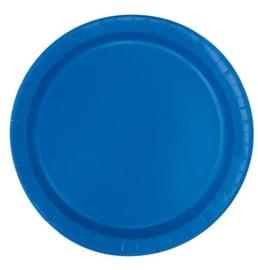 Donker Blauw- Bordjes