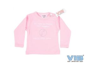 T-shirt- Bel opa en oma roze
