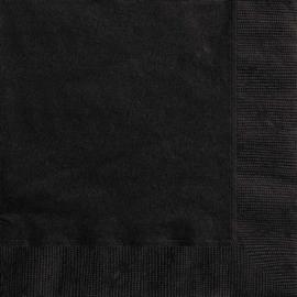 Zwart- Servetten
