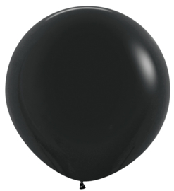 Topballon-  080 zwart