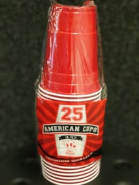 American Cups- Red