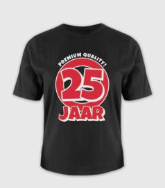 T-shirt- 25 jaar