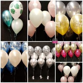 Heliumgevulde ballonnen