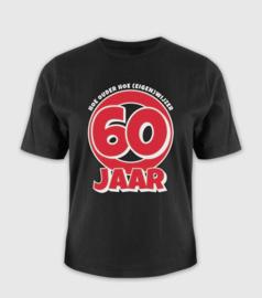 T-shirt- 60 jaar