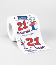 Toilet- 21 jaar