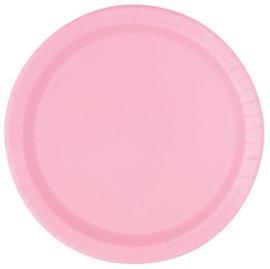 Licht Roze- Bordjes