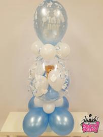 Geboorte- Stuffer XL blauw