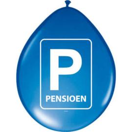 Pensioen- Ballonnen