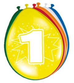 Ballonnen- 1 jaar