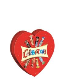 Snoep- Celebrations hart
