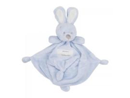 Knuffeldoekje- Konijn blauw